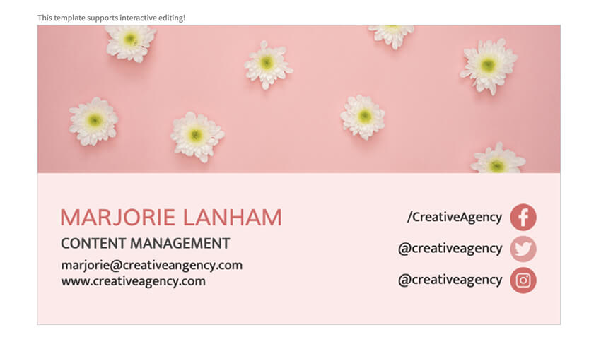 Business Card Template on Placeit