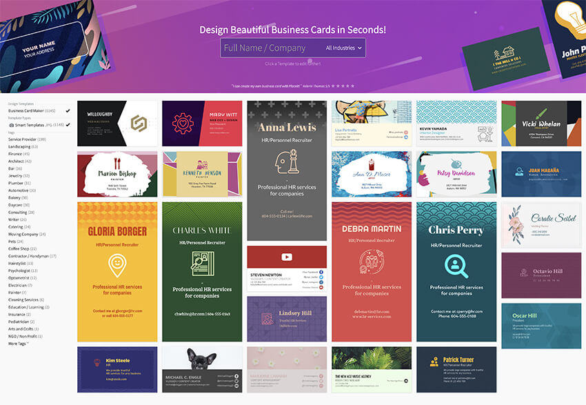 Placeit Business Card Maker Templates