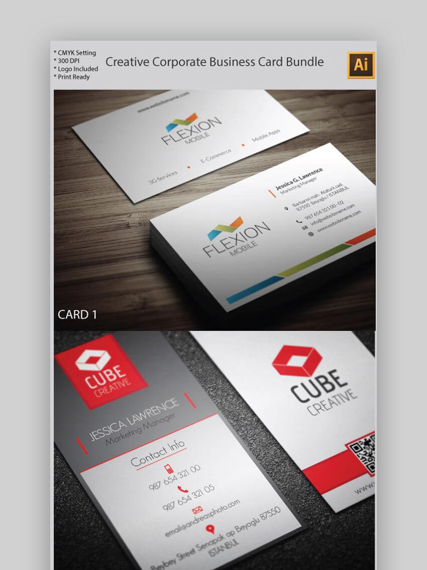 Creative Corporate Business Card Bundle