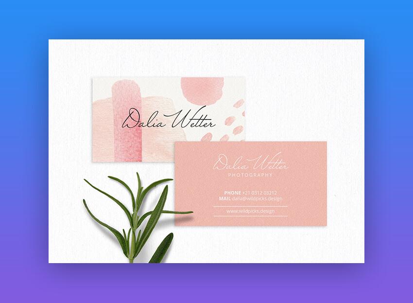 24 Premium Business Card Templates In Photoshop Illustrator