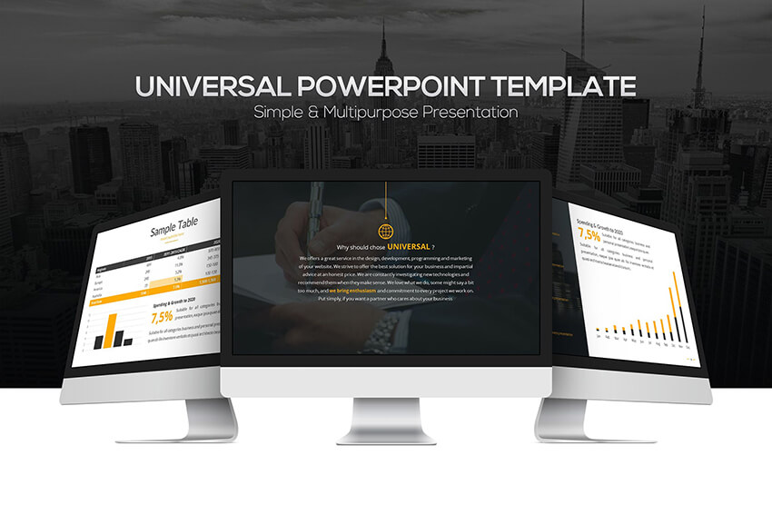 Universal Powerpoint Template