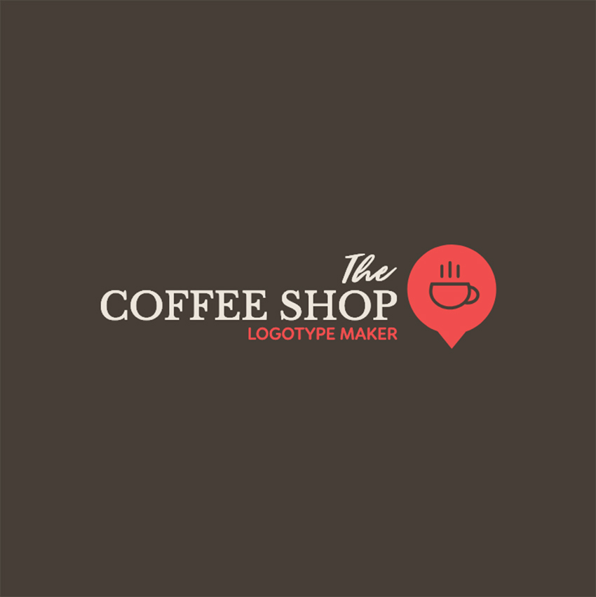 Coffee Shop Logo Maker with Elegant Graphics