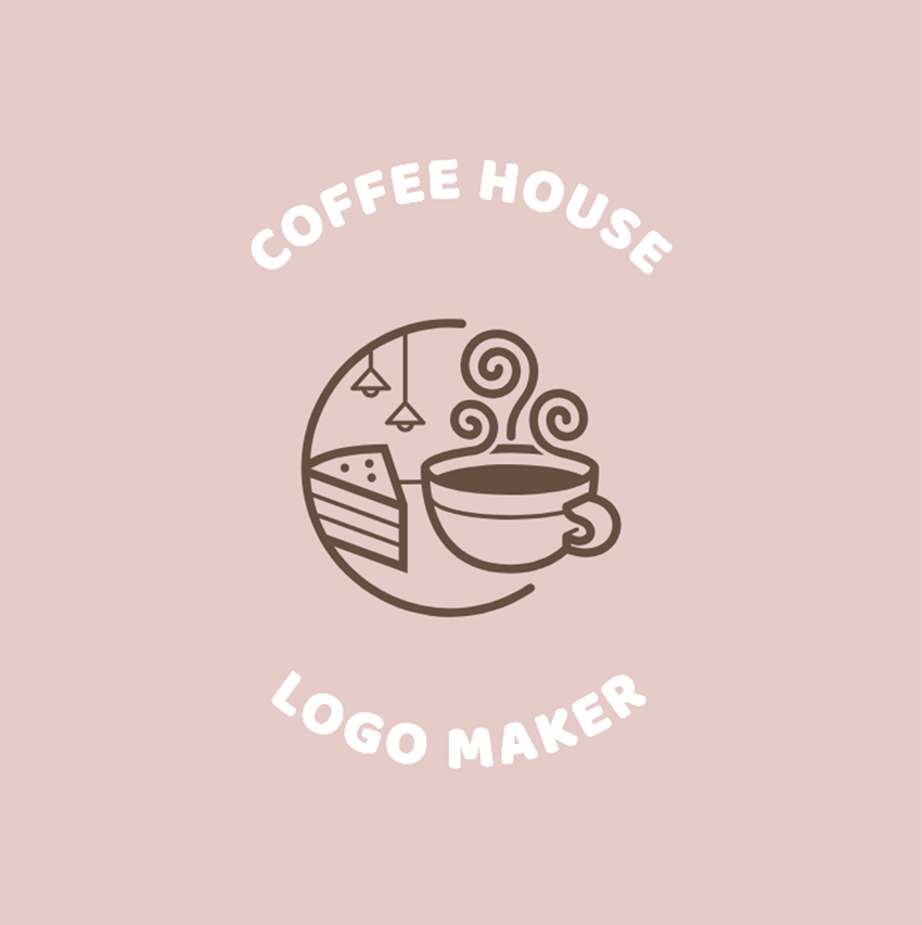 Coffee Shop Logo Maker with Mugs