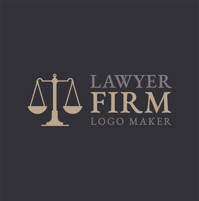 Logo Maker to Design a Lawyer Logo