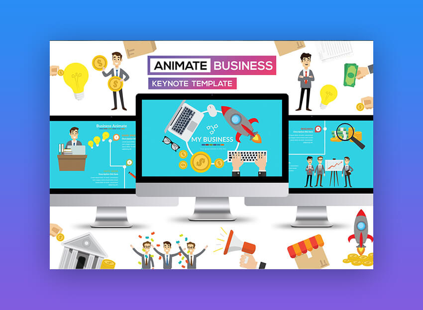 Business Animate - Awesome Keynote Template