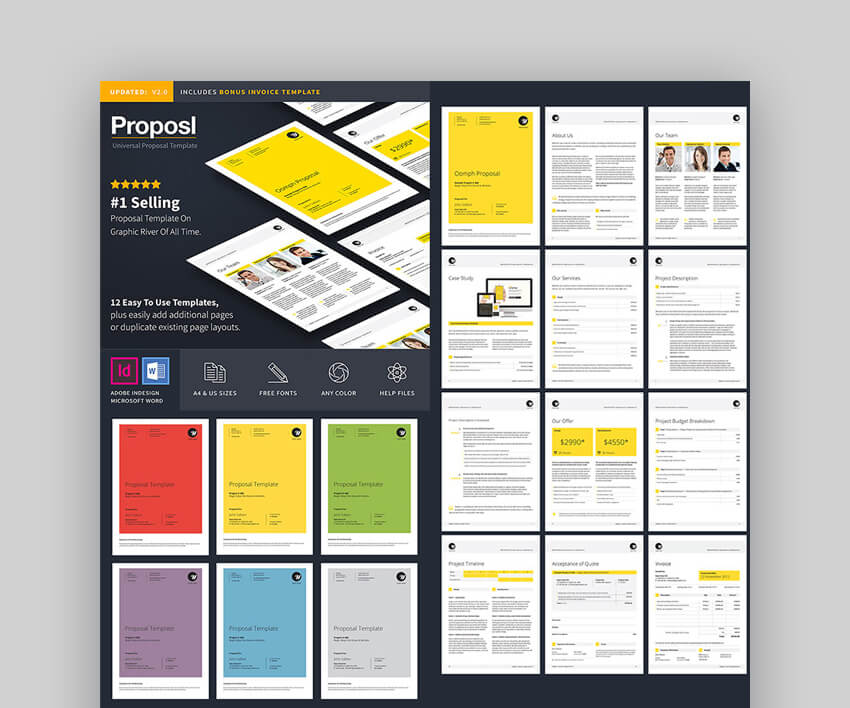 30+ Best Business Proposal Templates: Ideas For New Client
