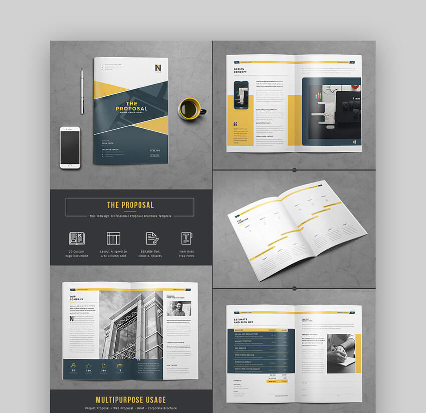 The Proposal - Flexible Business Template Set