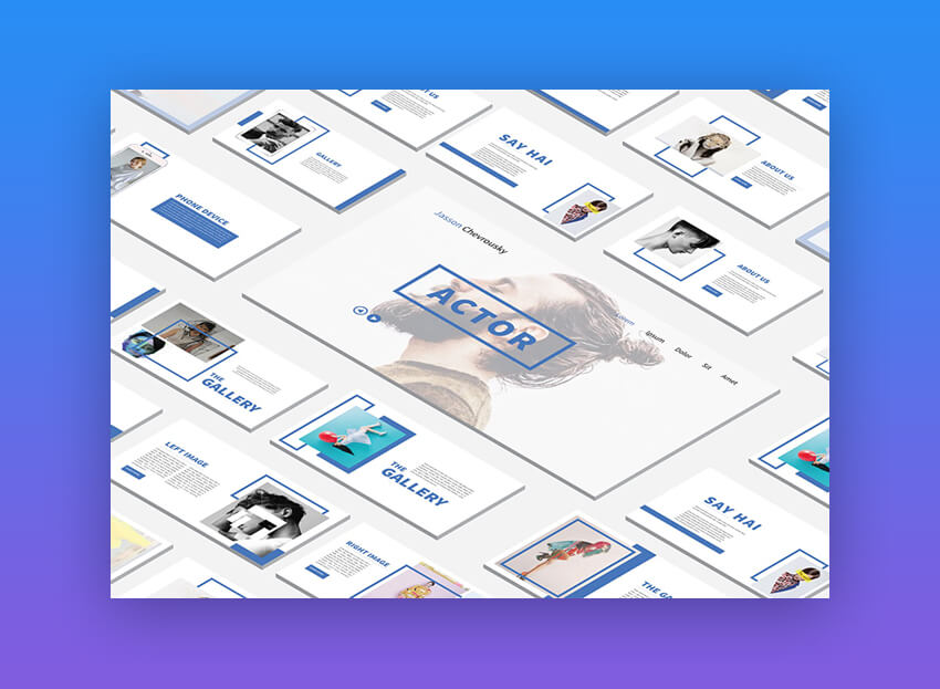 20 Free Modern PowerPoint PPT Templates With Minimalist Designs (2019)