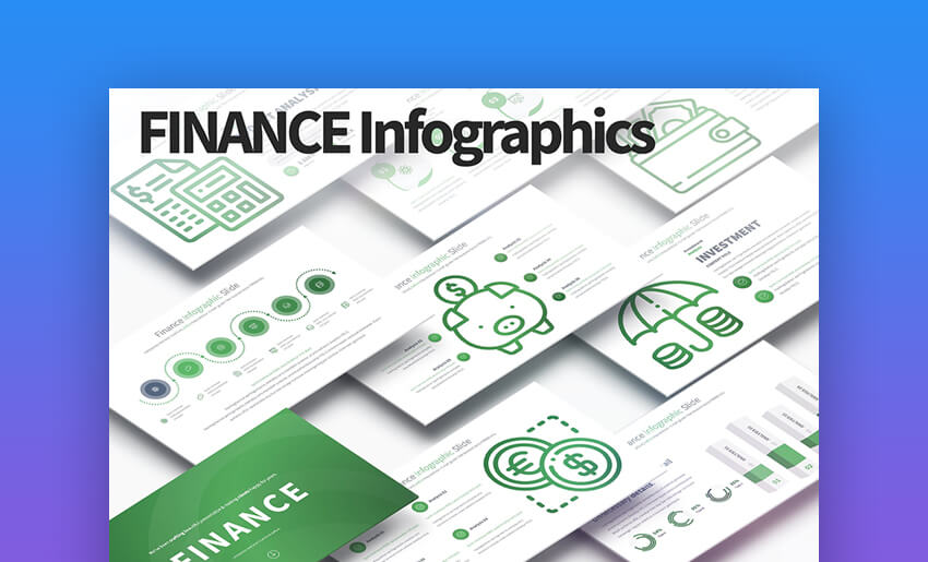 Finance - Minimal Business PowerPoint Template