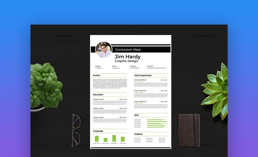 Curriculum VitaeResume - Simple Resume Template