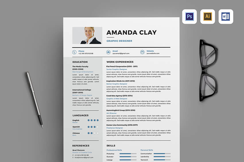 Experience Resume Section Example