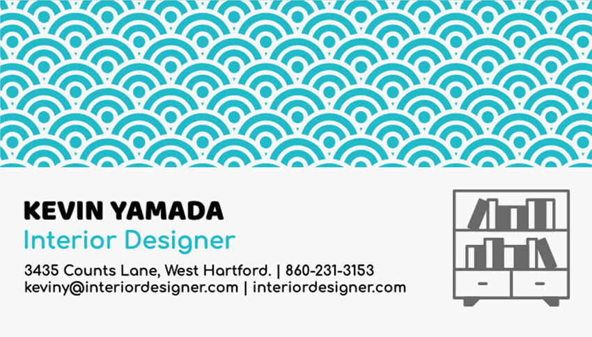 Business Card Maker for Interior Designers