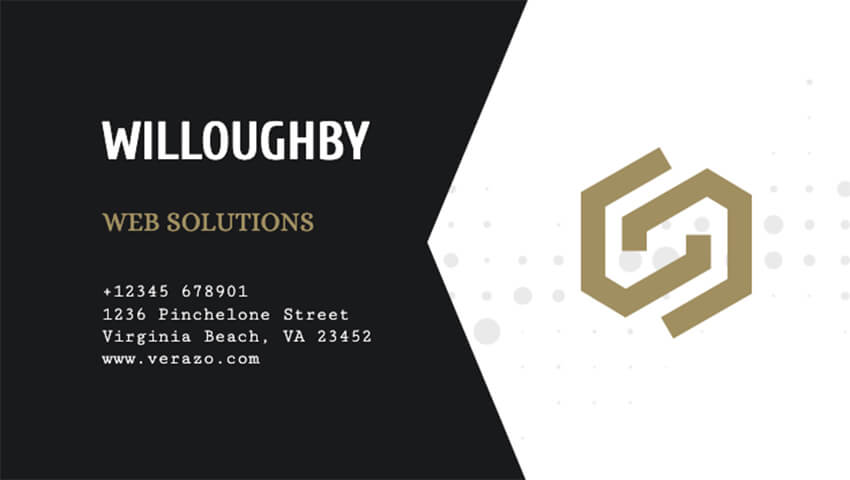 Web Developer Business Card Maker