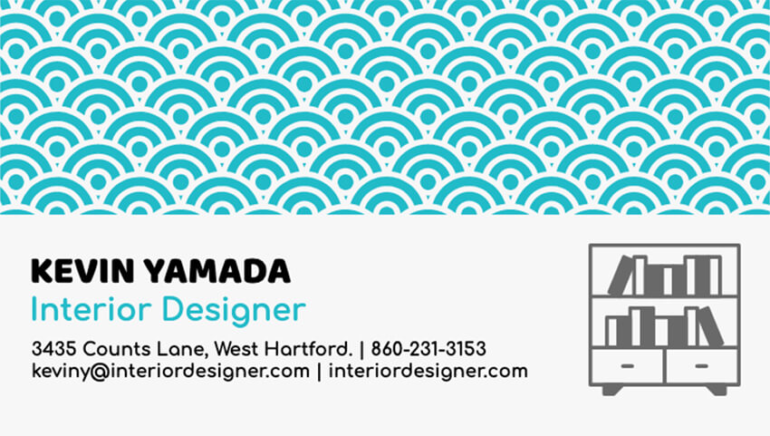 Business Card Maker for Interior Designers