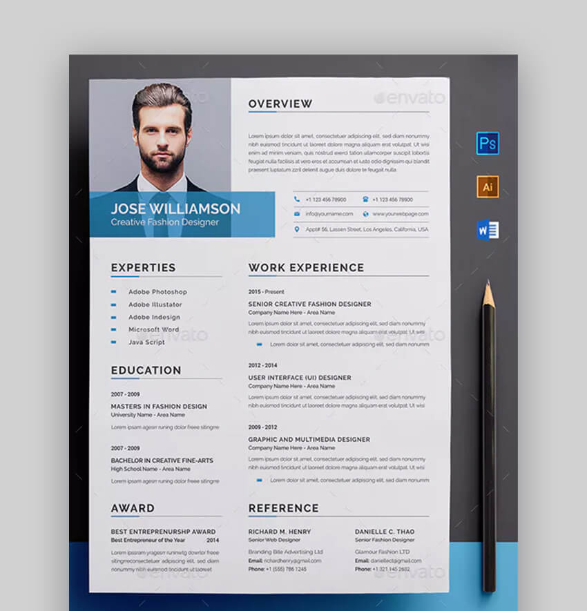 Resume - Professional Basic Resume Template