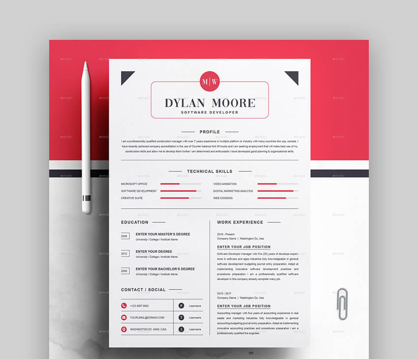 Resume - Basic Resume Template