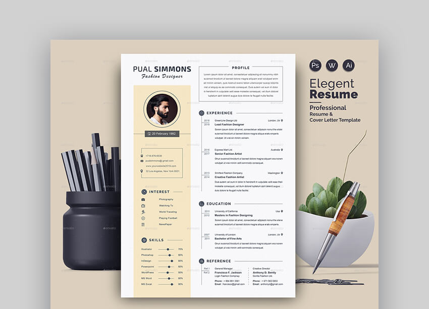Resume - Modern Basic Resume Template