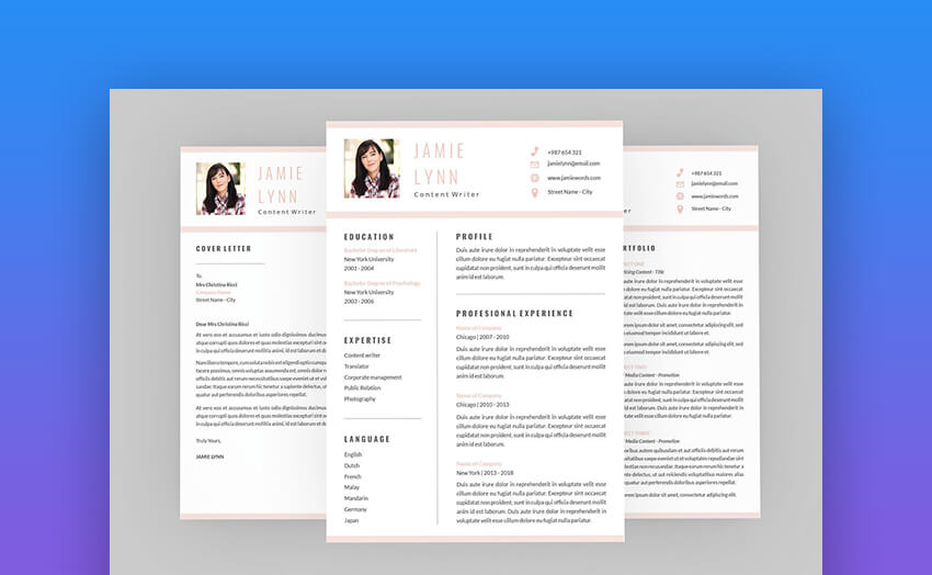 Appeal CV Resume Designer - Simple and Clean Resume Template