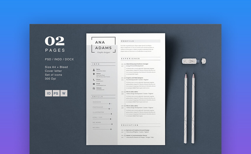 Resume Anna - Basic Resume Template