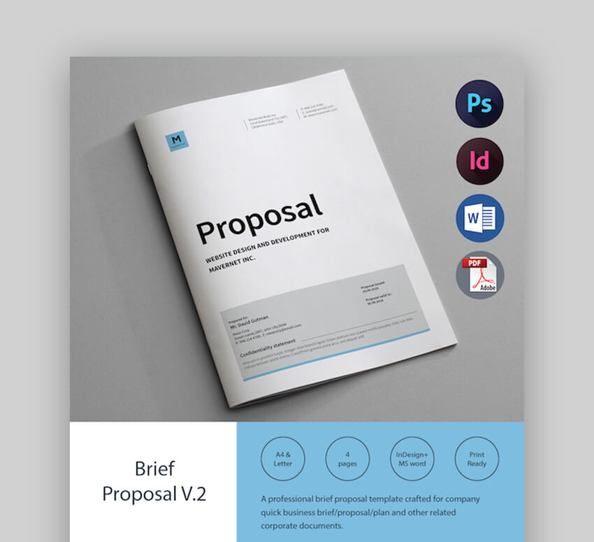 25 Microsoft Ms Word Business Proposal Templates To Make Deals In 2020