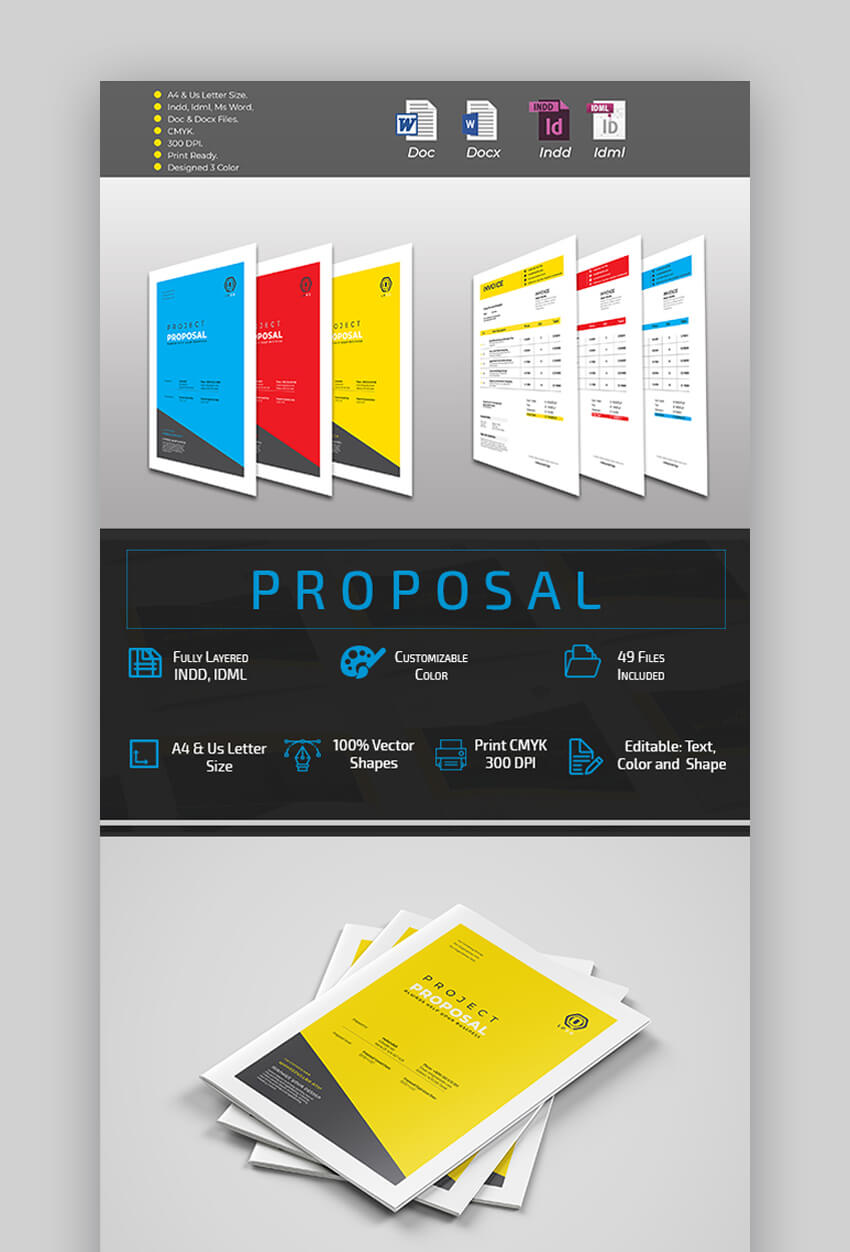 Proposal - MS Word Business Proposal Template
