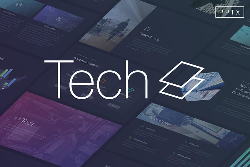 35 Best Science Technology Powerpoint Templates High Tech