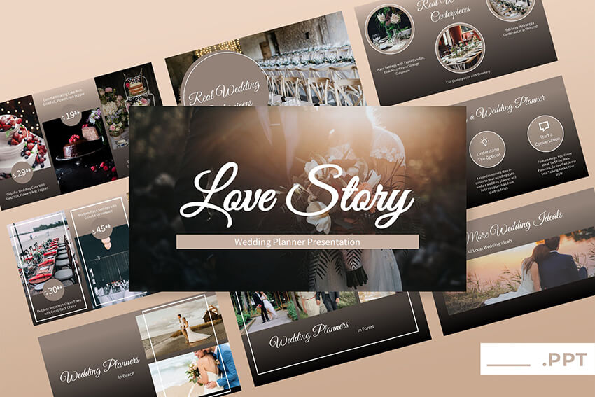 25 Top Wedding Powerpoint Slideshow Ideas With Creative Ppt Template Examples