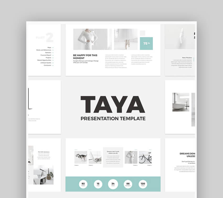 Taya Wedding PowerPoint Template