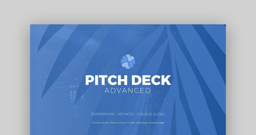 Pitch Deck Advanced Keynote Template