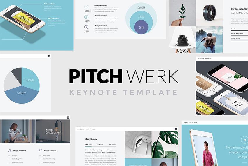 Pitch Werk Keynote template