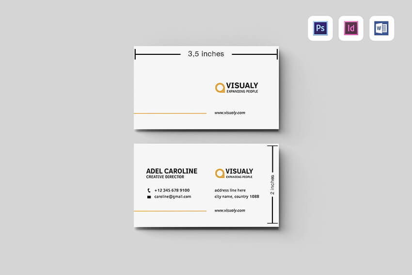 What S The Standard Business Card Size