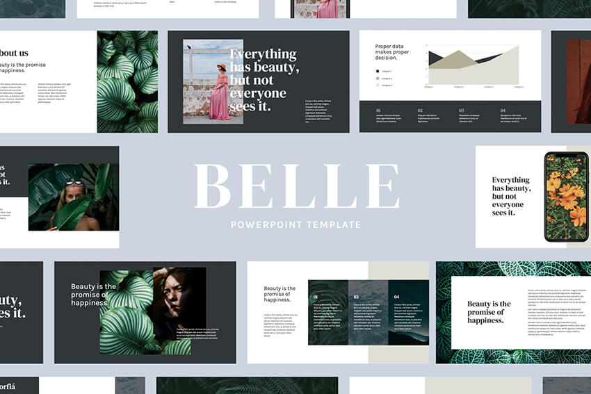 Belle PPT Template