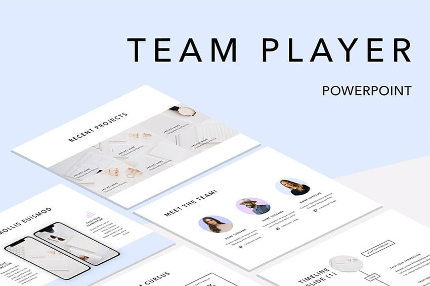 Team Player PPT Template