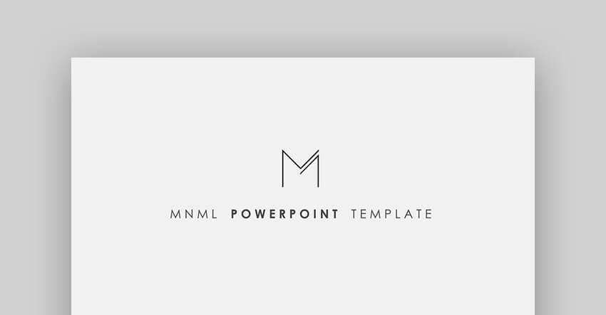 MNML - Minimal Mac Keynote Presentation Template