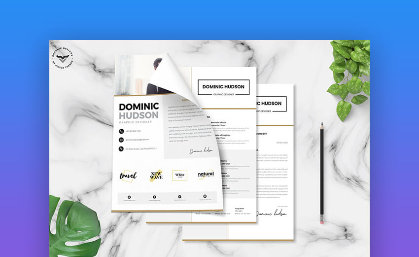 22 Free Minimalist Resume Templates Word Indesign More