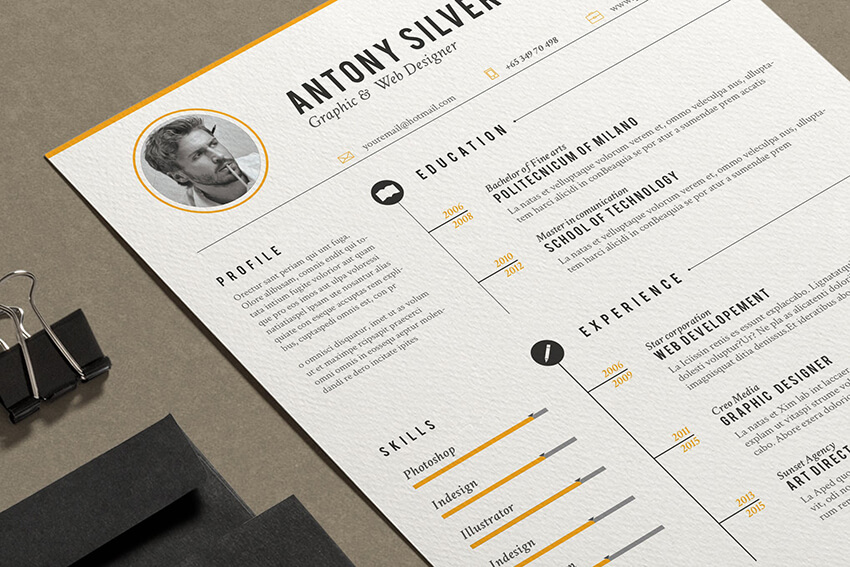 25+ Free Resume Templates for Open Office, LibreOffice, and ...