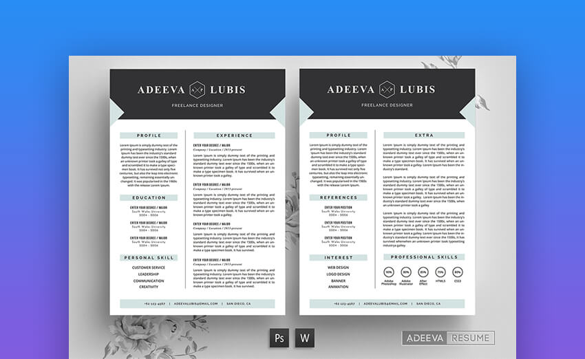 25+ Free Resume Templates for Open Office, LibreOffice, and