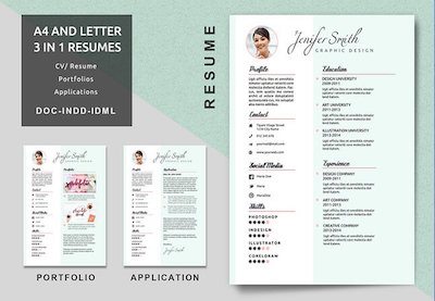 25 Free Resume Templates For Open Office Libreoffice And