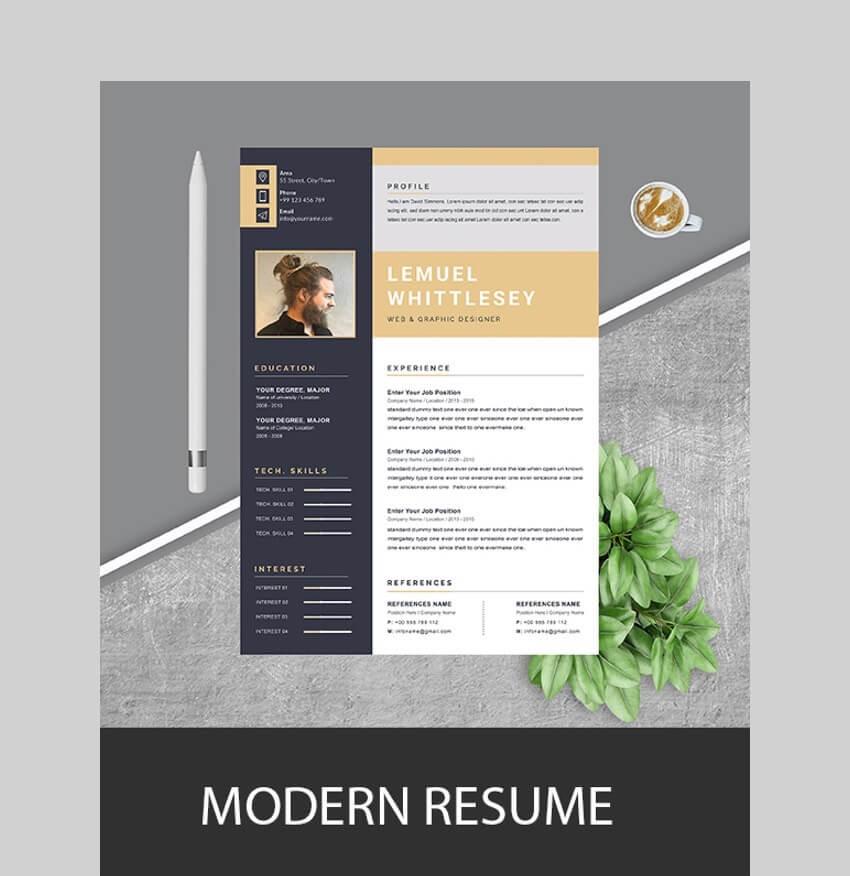 Resume CV - Clean Resume Template