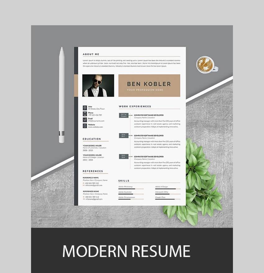 Simple ResumeCV