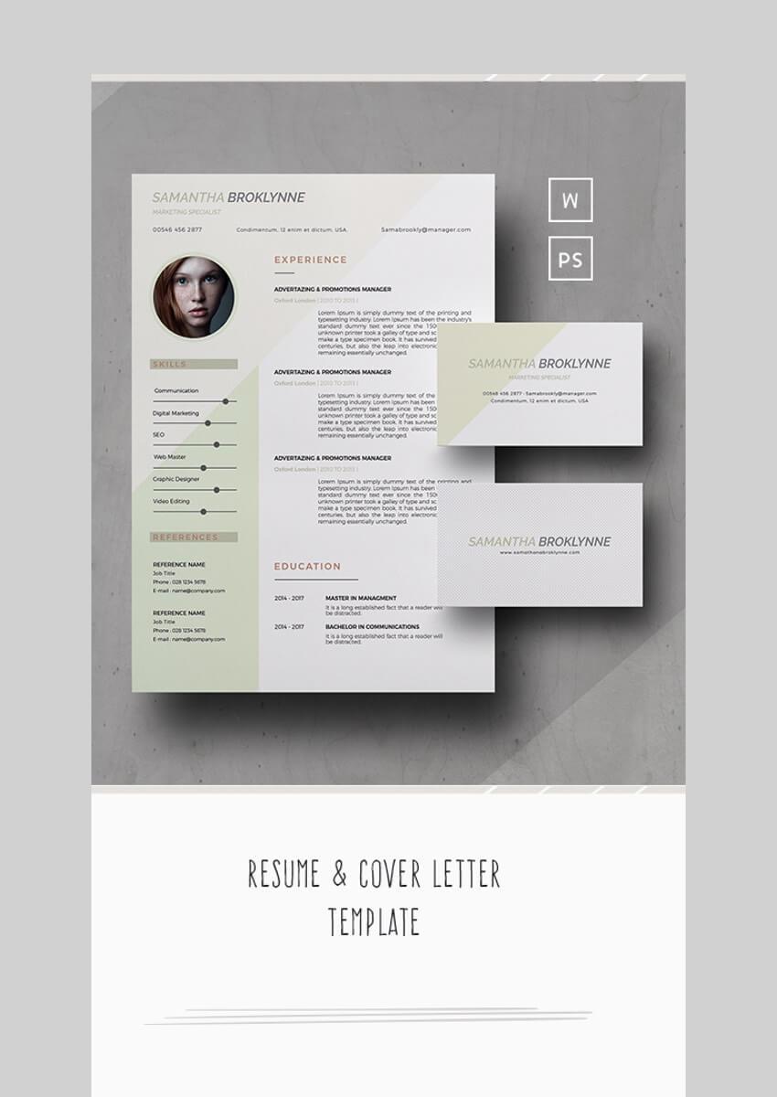CV Design Resume Template