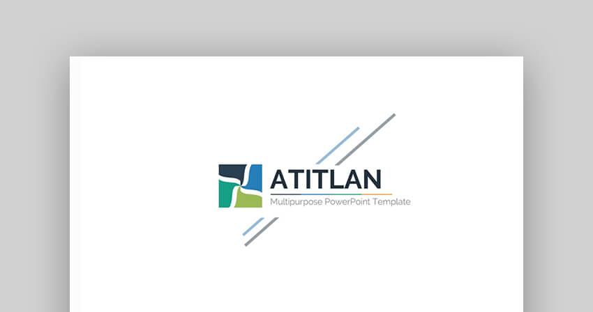 Atitlan - PowerPoint Pitch Deck Template