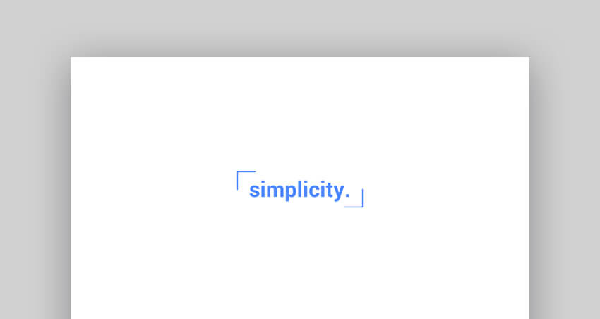 Simplicity - Modern and Minimal PowerPoint Template