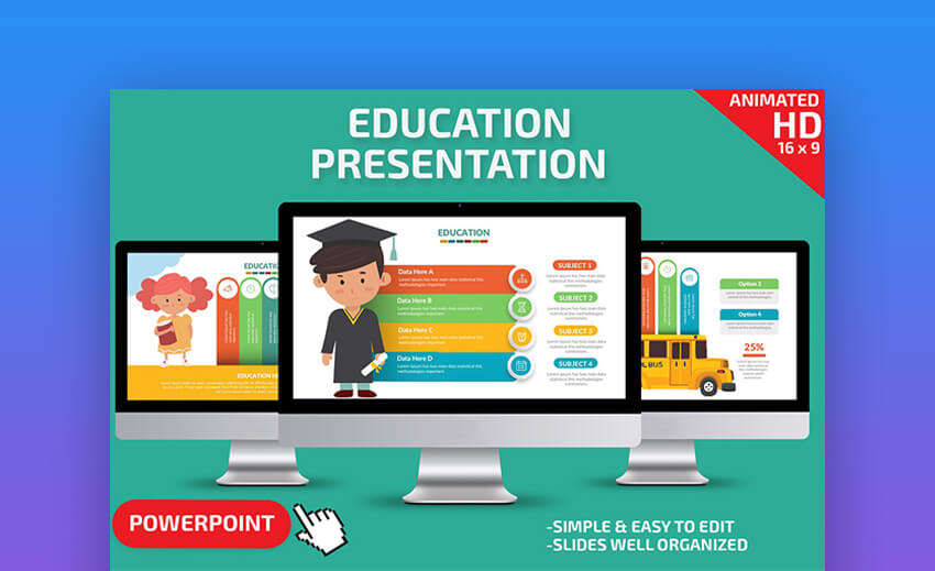 30 Free Premium Education Powerpoint Templates For Schools