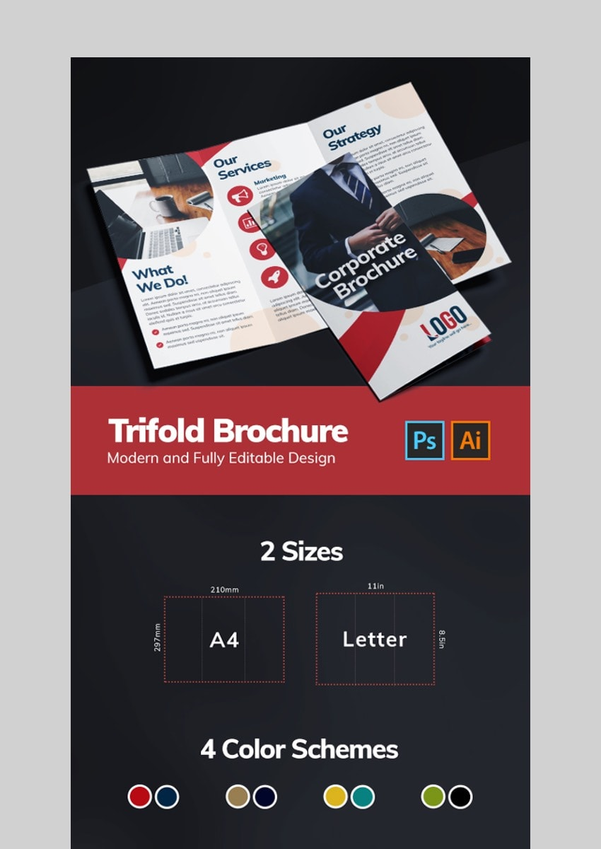 Creative Brochure - Photoshop Brochure Template