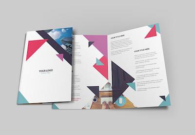 Photoshop brochure design preview