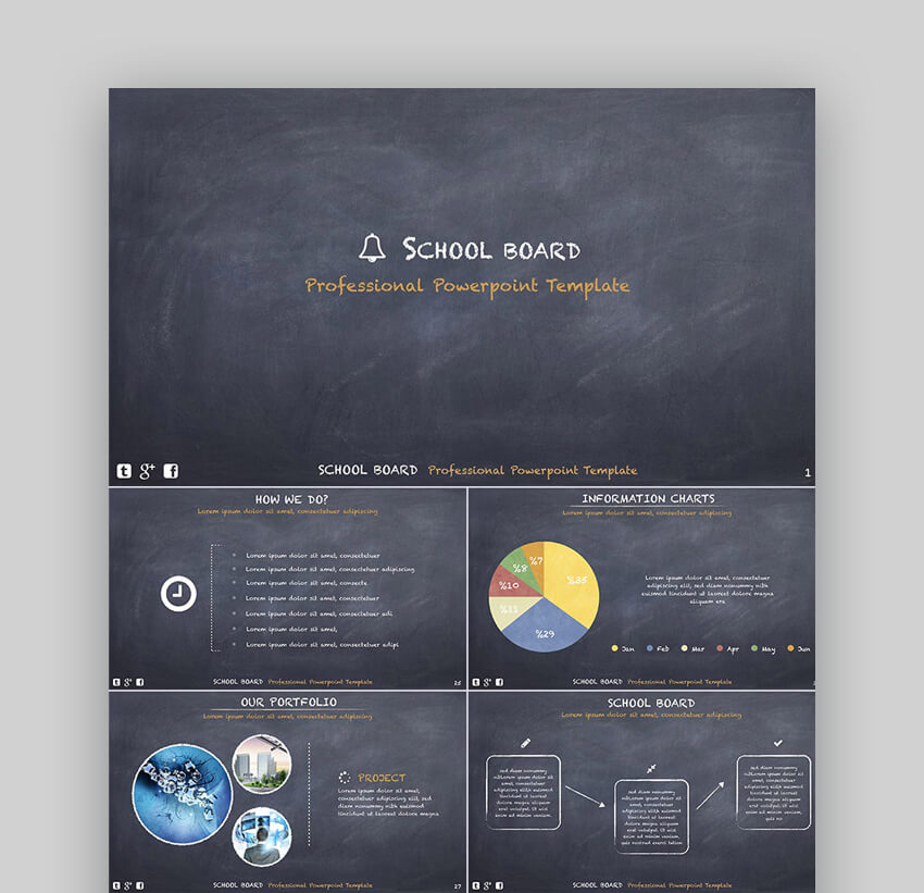 25 Education Powerpoint Ppt Templates For Great School