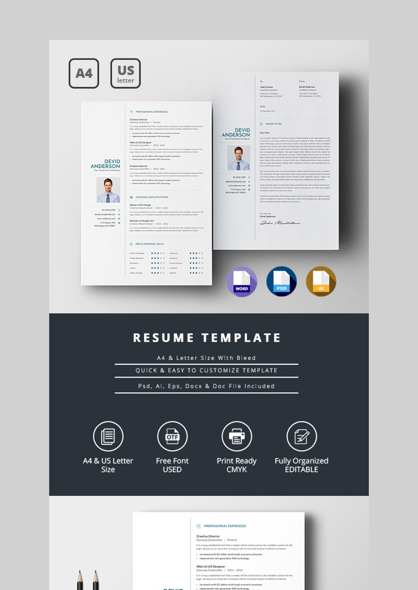 Easy to Edit Resume Template