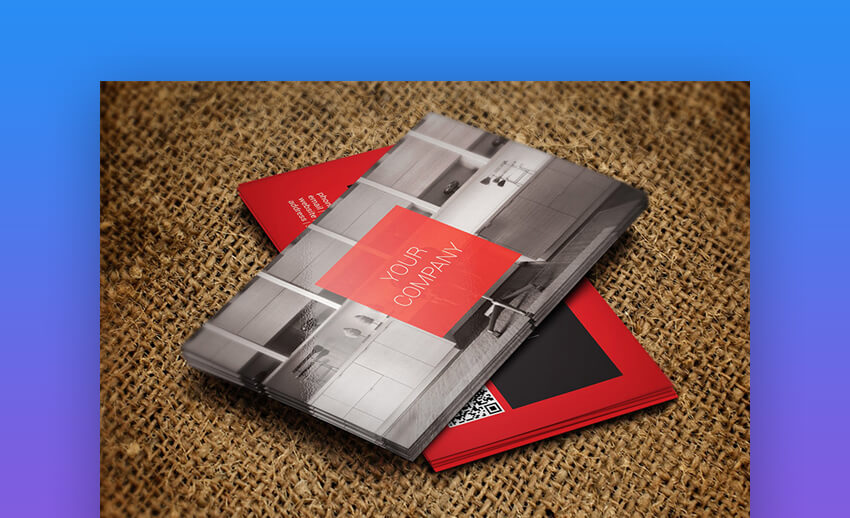 Modern Business Card - Business Card Template for Interior Designers