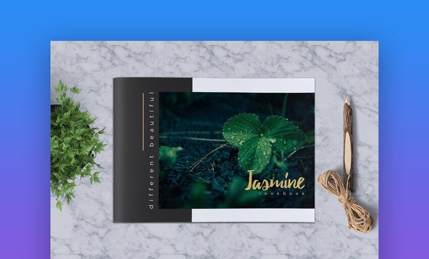 Jasmine Lookbook Catalogue - Fashion InDesign Catalogue Template